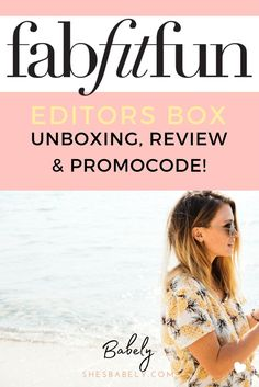 Happy to announce this reveal of the FabFitFun Editors Box for August It came packed with some real sweet goodies and of course they are all cruelty-free! Best Subscription Boxes, Monthly Subscription, Beauty Box Subscriptions, Kids Boxing, Blogging For Beginners, Make Money Blogging, Blog Tips, Making Ideas, Editor