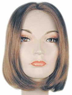 The One Length Short Pageboy is an extremely well-made, straight chin-length bob-cut wig. The Wig Shop, One Length Haircuts, Bob Styles, Hair Styles, Bob Cut Wigs, Chin Length Bob, Quality Wigs, Costume Wigs, Costumes