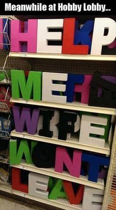 Meanwhile at Hobby Lobby