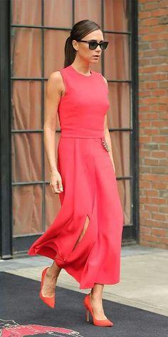 La musa de la moda Victori Beckham