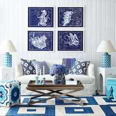 CONSTELLATION ART How To Decorate Your Vacation Home | Vine