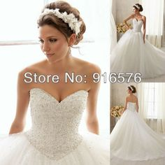 Sweetheart Pleat Rhinestone Embellished Sash A Line Hi Low Bridal Gowns Reception Wedding Dress 2014 Dresses Styles $133.00