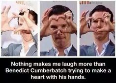 """In the picture when he finally gets it right he looks like """"is this a heart?this doesn't look like a heart"""""""