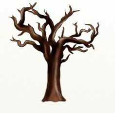 96 best dead tree art images on pinterest drawing techniques rh pinterest com Spooky Tree Clip Art dead oak tree clip art