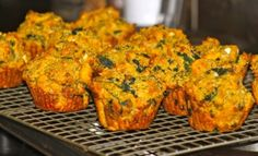 pumpkin feta muffins by @Gina de Villiers Nutmeg = Travel Blogger & Foodie