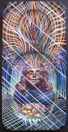 Interview with Visionary/Inter-Dimensional Artist Amanda Sage: Self Exposure Alex Grey, Eugenia Loli, Mystical Animals, Psy Art, Call Art, Visionary Art, Mixed Media Artists, Sacred Geometry, Great Artists