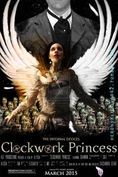 Clockwork Princess fan made Steampunk Book, Clockwork Princess, Will Herondale, Clockwork Angel, Past Tense, The Infernal Devices, Paranormal Romance, Shadow Hunters, Cassandra Clare