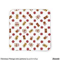 Christmas Vintage retro patterns