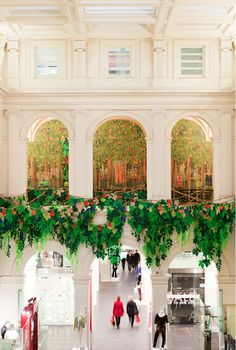 I am more than considering buying a last minute ticket to Melbourne to see this extraordinary 'Spring Orchard' paper creation by Gloss Creative