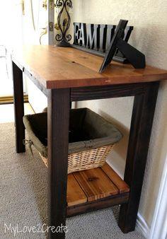My Love 2 Create: Reclaimed Wood Table
