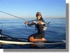 paddle board fishing #SUPFishing