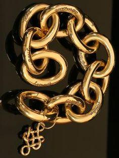 H. Stern 18KT Yellow Gold Sulta Bracelet form the Diane von Furstenberg Collection.