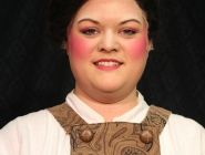 Mikayla Runciman- This would work for Mrs Fezziwig's makeup- rich looking and colourful