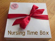 Nursing Time Box - A gift idea for a new mom with other little ones at home. Filled with toys and goodies to keep the kiddos busy while mom is nursing new babe.