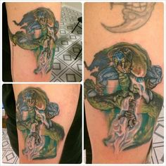 Soul Reaver tattoo! So much more to come with this piece!