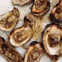 Grilled Oysters with Spicy Tarragon Butter