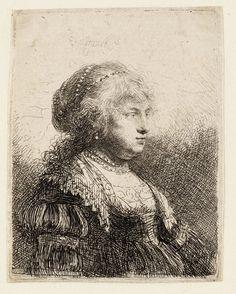 Saskia Rembrandts wife