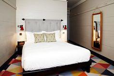 Las habitaciones tienen cada una un estilo original.   Galería de fotos 9 de 25   AD MX