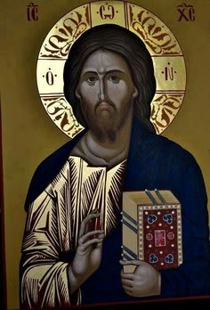 Images Of Christ, Pictures Of Jesus Christ, Religious Pictures, Religious Icons, Religious Art, Byzantine Icons, Byzantine Art, Christ Pantocrator, Religion