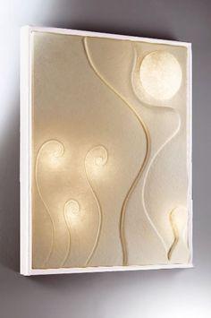 """""""Lunar Dance 3"""" lampada da parete By in-es.artdesign [www.viadurini.it"""