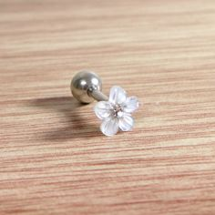Check out this item in my Etsy shop https://www.etsy.com/listing/498427520/cz-barbellmother-of-pearl-piercingflower