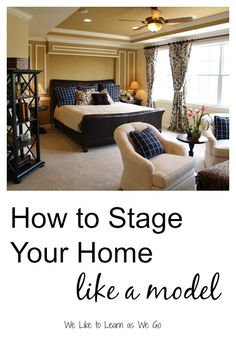 Wondering how to make your home look like a model?  Here are 11 quick tips to make your home look professionally staged. | www.weliketolearnaswego.com