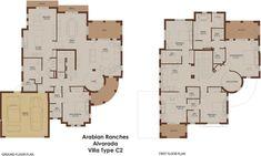 Alvorada C2 - Arabian Ranches - Dubai Floor Plans