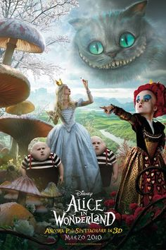 Alice in Wonderland (watched, loved it)
