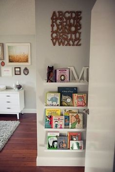 A Beautiful Nursery for a Baby Girl That Defies All Stereotype | The Stir - book display