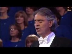 Andrea Bocelli & Mormon Tabernacle Choir (HQ) The Lords Prayer