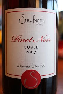 The Reverse Wine Snob: Seufert Winery Pinot Noir Cuvée 2007 - Hunt For The Best Pinot Noir Under $20