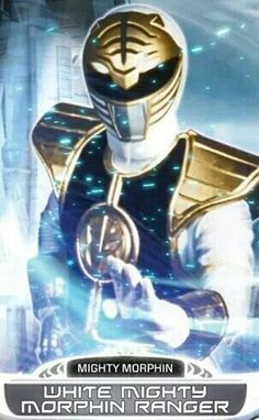 White Mighty Morphin Power Ranger