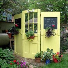 Vintage Garden Decor Creative Ideas_19