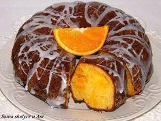 Babka serowa z pomarańczą.