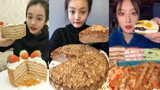 ASMR Crepe Cake Eating Sounds MUKBANG Crepe Cake, Asmr, Channel, Make It Yourself, Breakfast, Food, Morning Coffee, Autonomous Sensory Meridian Response, Essen