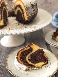 Taking the guesswork out of Greek cooking.one cup at a time Greek Sweets, Greek Desserts, No Bake Desserts, Delicious Cake Recipes, Yummy Cakes, Yummy Food, Delicious Dishes, Amazing Recipes, Marble Cake