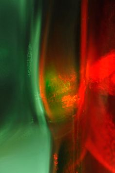 Green and Red glass 1 by MissUmlaut