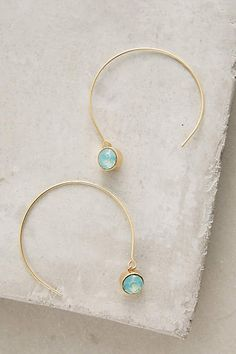 Ojai Threaded Hoops - #anthrofave