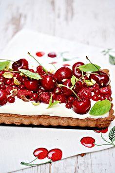 z białą czekoladą