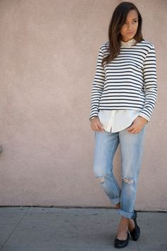Stripes & denim are our Spring go-to!