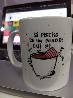 Coffee Is Life, I Love Coffee, Diy Mugs, Cute Cups, Pen Art, Funny Mugs, Cool Gadgets, Kitchen Towels, Hand Lettering