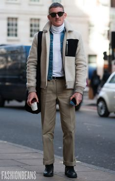 Street Style Gallery: London Fashion Week Men's AW17 | FashionBeans