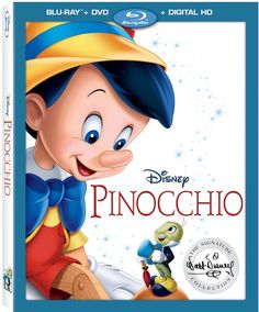 Pinocchio On Blu-Ray DVD & Digital. This Is What To Expect.