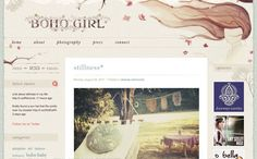 "Nice example of gentle, fragile and so ""ladies"" look #webdesign http://www.deniseandrade.com/"