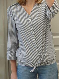 La chronique d'Aurélie //26// Customiser une chemise d'homme - épisode 2 | Lagouagouache