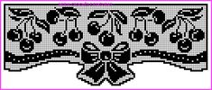 Filet Crochet, Crochet Lace, Crochet Edgings, Crochet Fruit, Crochet Curtains, C2c, Crochet Projects, Cross Stitch Patterns, Angela