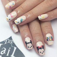 Tsum Tsum nails! So cute!