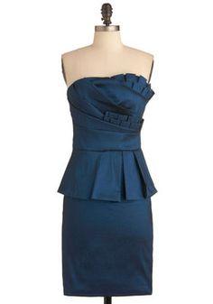 ModCloth - Midnight Reception Dress - $57.99