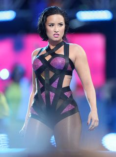 Demi Lovato performed at the Video Music Awards for the first time Sunday night and — surprise, surprise — she totally slayed. | 13 Instantly Iconic Moments From Demi Lovato's VMAs Performance