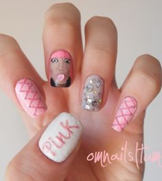 Awesome Painted #Nails http://www.missomoms.com/arts-crafts/painted-nails-awesome #beauty #art